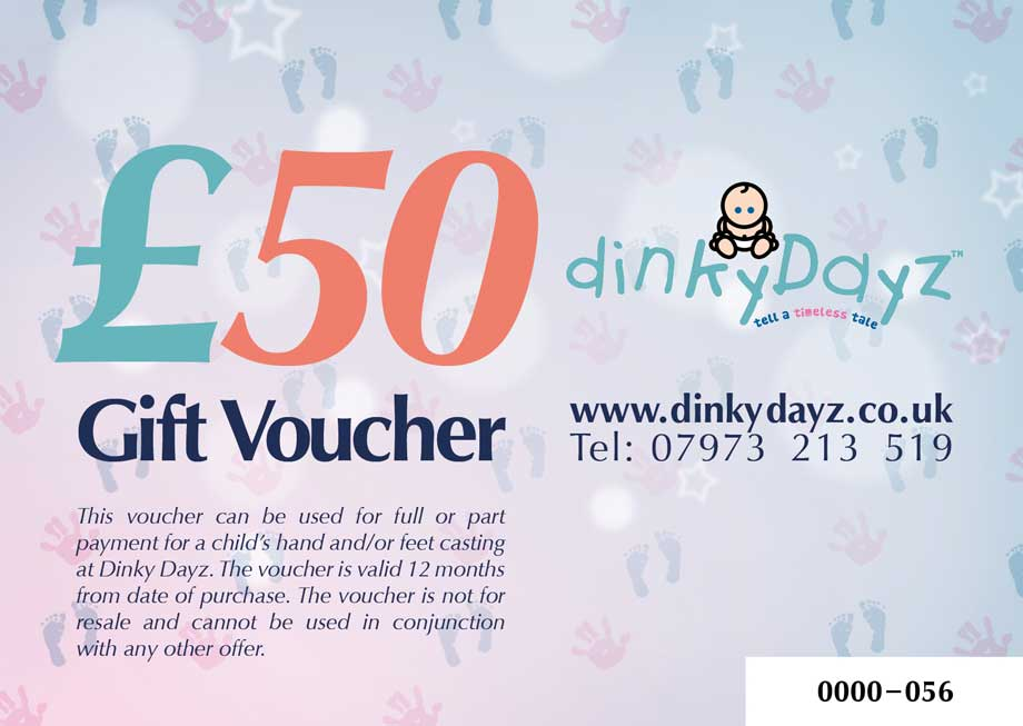 Gift voucher design for Dinky Dayz small business